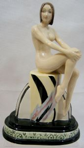 Artware Carlton Ware Figurine Art Deco Girl - Limited Edition - 1/25 - SOLD